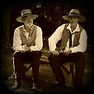 Wild West Lightbox 4: Two Characters by farmbrough