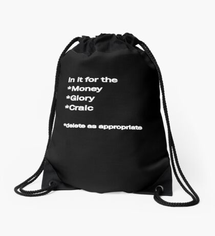In it Drawstring Bag