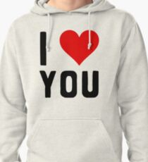 LOVE YOU Pullover Hoodie