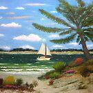 Caribbean Calm by Gordon Beck