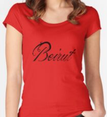 beirut tee Women's Fitted Scoop T-Shirt