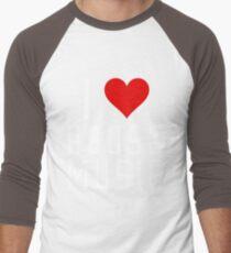 i love house music Men's Baseball ¾ T-Shirt