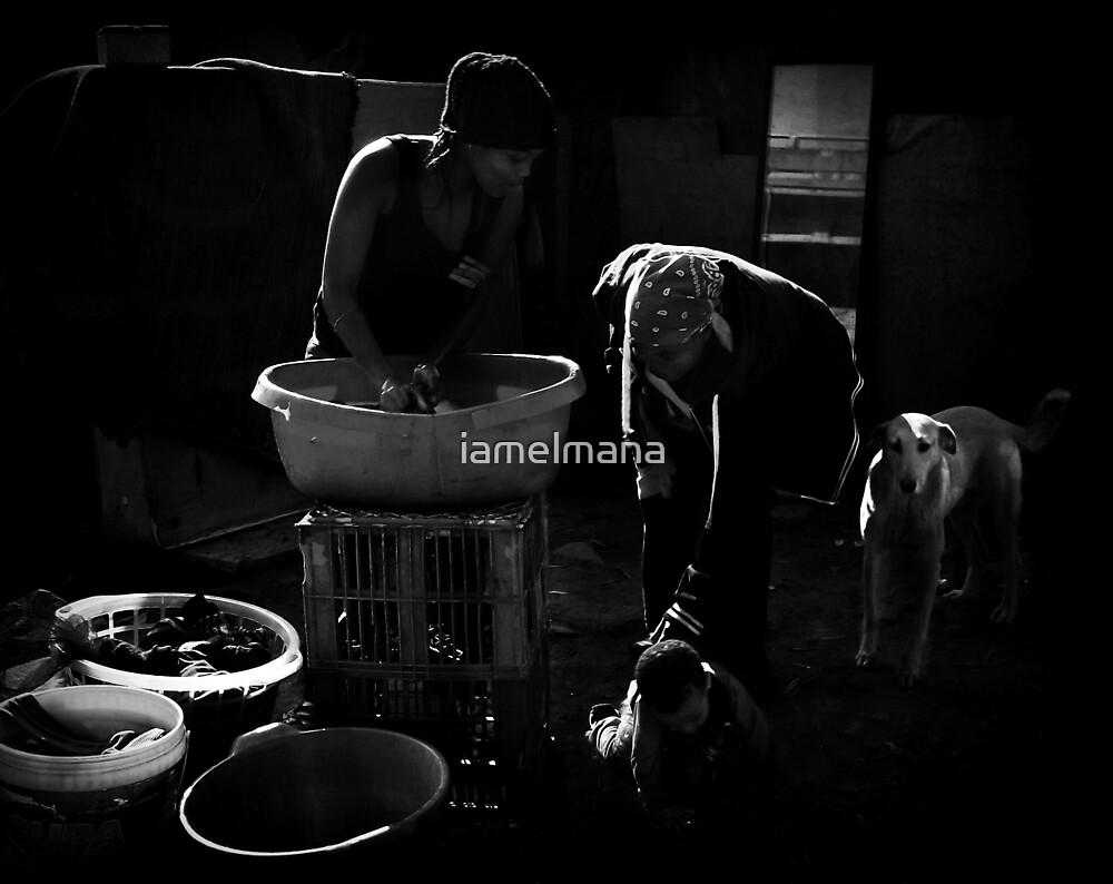 """Washday in """"slumtown"""" by iamelmana"""