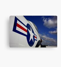 WWII Airplane - US Airforce Canvas Print