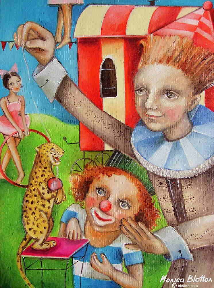 Circus Trainer by Monica Blatton