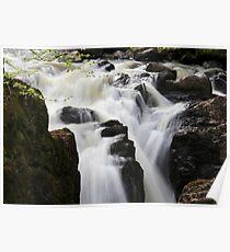 Silky Falls Poster