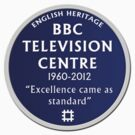 Blue Plaque for BBC Television Centre by unloveablesteve