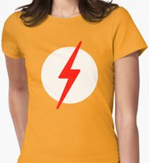 Kid Flash Womens Fitted T-Shirt