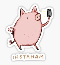 Instaham Sticker