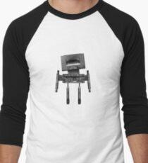 Cassette Robot, or Cassbot if you will Men's Baseball ¾ T-Shirt