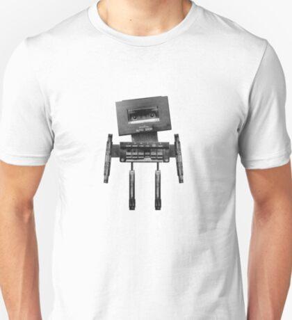 Cassette Robot, or Cassbot if you will T-Shirt