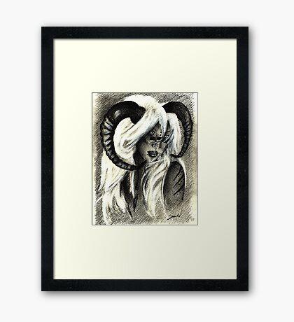 Sweet anoyance Framed Print