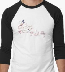 Floral Music Note T-Shirt