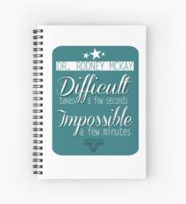 Rodney McKay Spiral Notebook