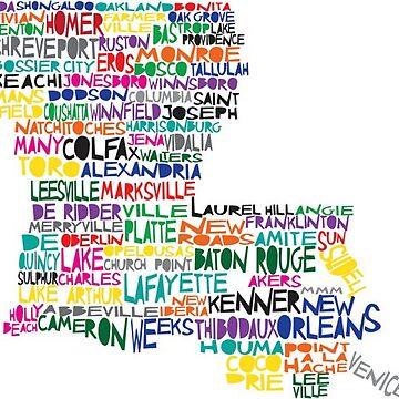 Louisiana by ashleyschex