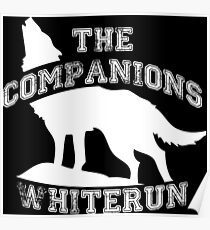 The companions of Whiterun - White Poster