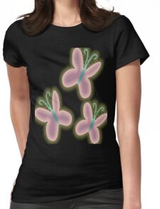 Neon Shy Womens Fitted T-Shirt