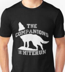 The companions of Whiterun - White Unisex T-Shirt