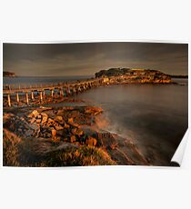 Bear Island at La Perouse at sunset Poster