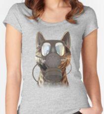 Schrödinger underestimates the cat Women's Fitted Scoop T-Shirt