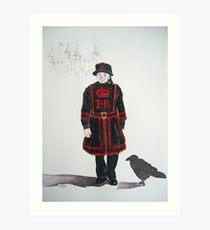 Yeoman Warder Art Print