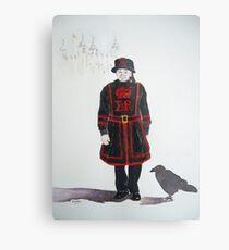 Yeoman Warder Metal Print