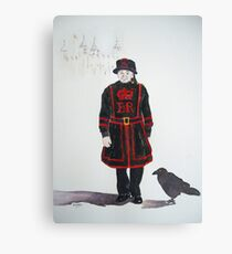Yeoman Warder Canvas Print