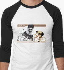 6212a0a82 vintage poster EDDY MERCKX  the cannibal Men s Baseball ¾ T-Shirt