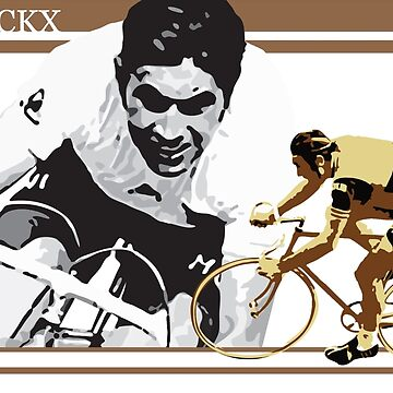 cartel vintage EDDY MERCKX: el caníbal de SFDesignstudio