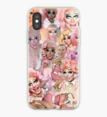 Vinilo o funda para iPhone Rupaul's Drag Race Trixie Mattel