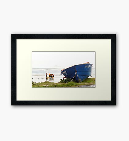 Out With The Old Framed Print