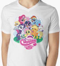 My Little Chocobo Men's V-Neck T-Shirt