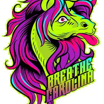 Breathe Carolina-Unicorn(white splotch) by mirra96