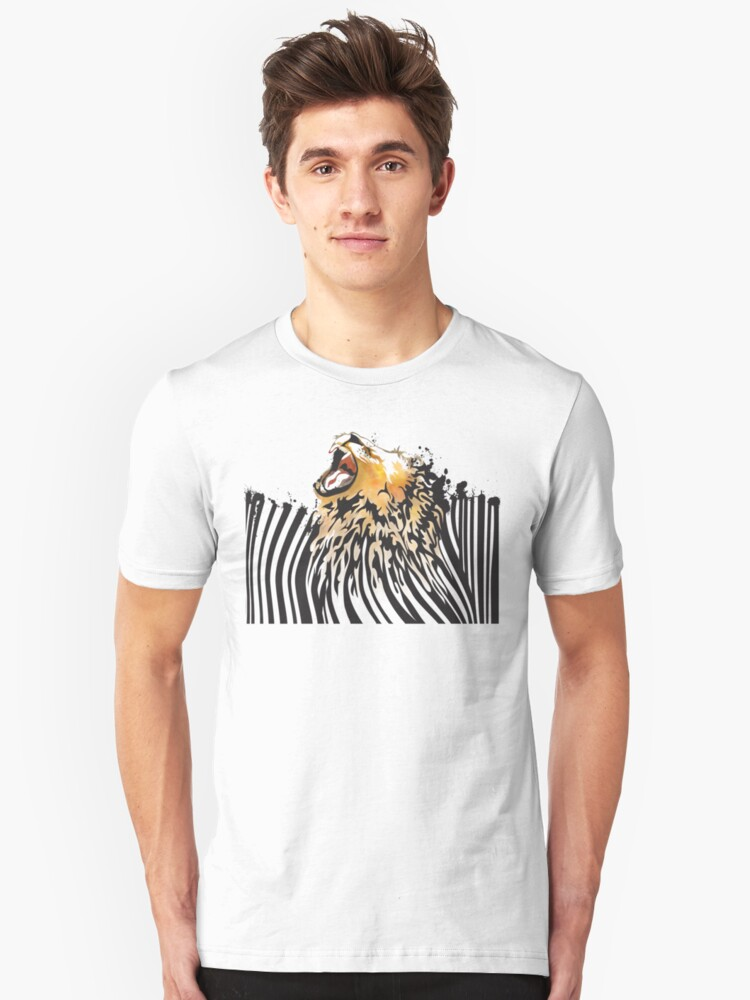 lion barcode by SFDesignstudio