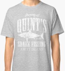 Quints Shark Fishing Amity Island Classic T-Shirt