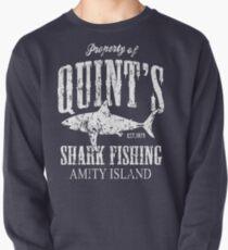 Quints Shark Fishing Amity Island Pullover