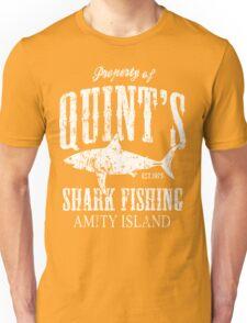 Quints Shark Fishing Amity Island Unisex T-Shirt