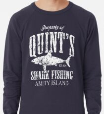 Quints Shark Angeln Amity Island Leichter Pullover