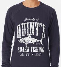 Quints Shark Angeln Amity Island Leichter Pullover