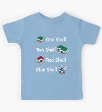 1 Shell 2 Shell Kinder T-Shirt