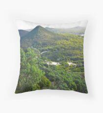 Tomaree National Park Throw Pillow
