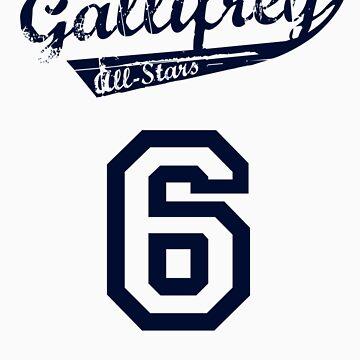 Gallifrey All-Stars: Six (alt) by twig3721