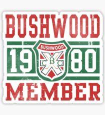 Retro Bushwood 1980 Member Sticker