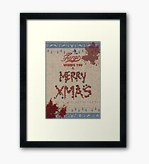 Fargo [Christmas Wishes] Framed Print
