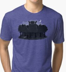 Monster Hunting Tri-blend T-Shirt