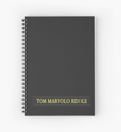 Tom Riddle's Diary Spiral Notebook
