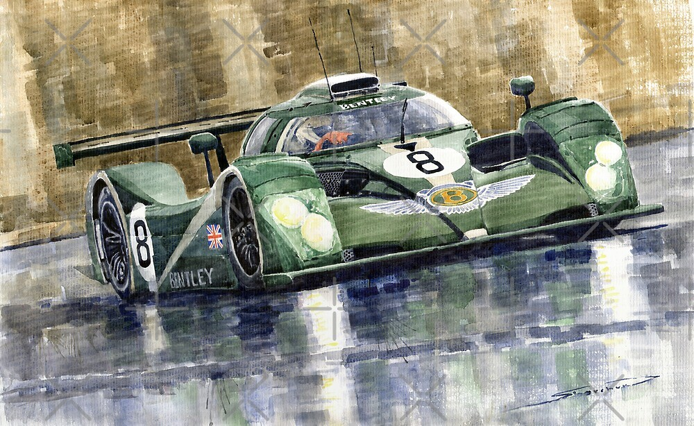 Bentley Prototype EXP Speed 8 Le Mans racer car 2001 by Yuriy Shevchuk