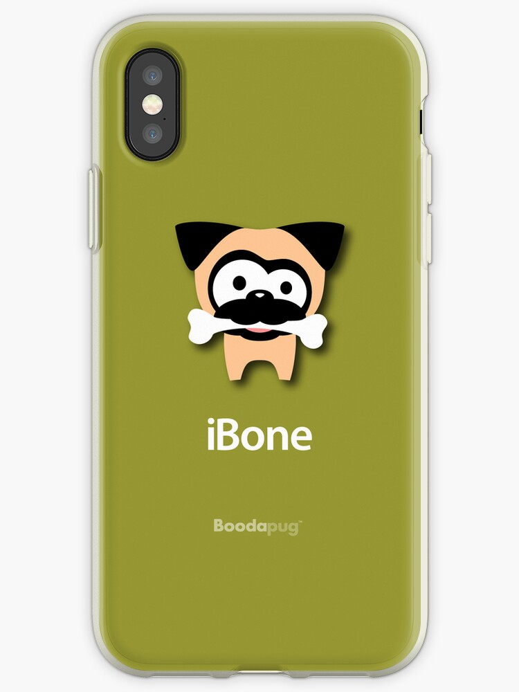 Tugg iBone iPhone Case (Green) by boodapug
