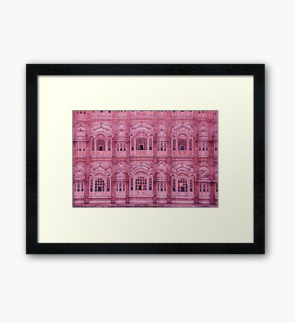 Pink Palace Framed Print