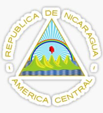 Coat of Arms of Nicaragua  Sticker